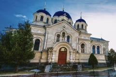 Монастырь Noul Neamt в Chitcani Приднестровье Стоковые Фотографии RF