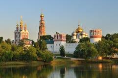 Монастырь Novodevichy в Москве Стоковое Фото