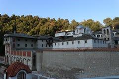Монастырь Panagia Ikosifinissa в Греции Стоковая Фотография RF