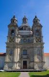 Монастырь Pazhayslissky в Каунасе, церков Стоковая Фотография