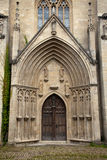 Монастырь Pforta входа собора Стоковое Изображение RF