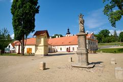 Монастырь Plasy стоковое фото