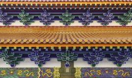 Монастырь Po Lin - остров Lantau Гонконг стоковое изображение