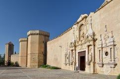 Монастырь Poblet стоковое фото