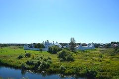 Монастырь Pokrovsky, Suzdal, Россия стоковое фото
