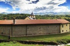 Монастырь ` s Moraca, Черногория стоковая фотография rf