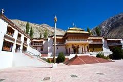 Монастырь Samstenling, Sumur, долина Nubra, Ladakh, Индия Стоковое фото RF