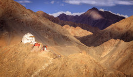 Монастырь Sankar Стоковые Изображения