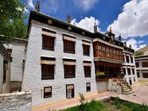 Монастырь Sankar Gompa буддийский в городе Leh в Ladakh стоковая фотография rf