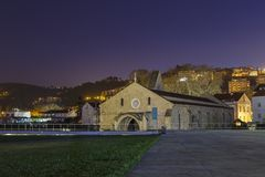 Монастырь Santa Clara Velha Стоковые Изображения