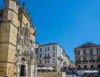 Монастырь Santa Cruz в Коимбре Португалия Стоковое Изображение