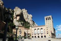 Монастырь Santa Maria de Монтсеррата, Испания Стоковое Изображение RF