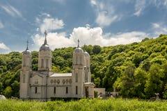 Монастырь Sfantul Andrei в Dobrogea Румынии Стоковое Фото