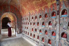 Монастырь Shwe Yan Pyay Стоковое Фото