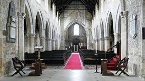 Монастырь Snaith - внутренность - восточный ехать Йоркшир Стоковая Фотография