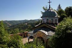 Монастырь Sokolski правоверный, в Болгарии Стоковые Изображения RF