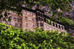 Монастырь Soumela Стоковое Изображение