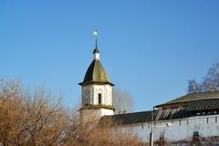 Монастырь Spaso-Andronikov в Москве, России Стоковое Фото