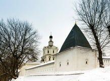 Монастырь Spaso-Andronikov, Москва, Россия Стоковое Изображение RF