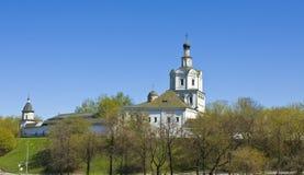Монастырь Spaso-Andronikov, Москва Стоковые Фотографии RF