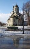 Монастырь Spaso-Andronikov, Москва Стоковая Фотография