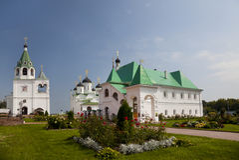 Монастырь Spassky. Murom Стоковое Фото