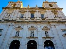Монастырь St Винсента вне стен, Лиссабона, Португалии Стоковое фото RF