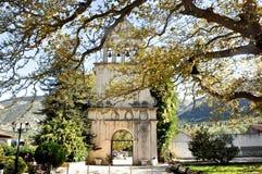 Монастырь St Gerasimos, остров Kefalonia, Греция стоковая фотография