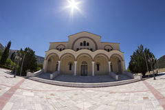 Монастырь St Gerasimos, Kefalonia Стоковое Изображение