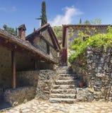 Монастырь St. John Lampadistis Кипр стоковое фото rf
