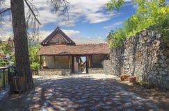 Монастырь St. John Lampadistis Кипр стоковые фото