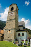 Монастырь St. John - Mustair Швейцарии стоковое изображение rf
