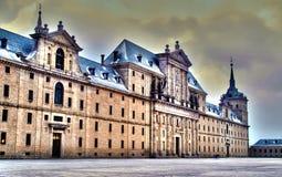 Монастырь St Lorenzo Escorial стоковые фото