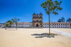 Монастырь St Mary Alcobaca, в центральной Португалии Место всемирного наследия ЮНЕСКО с 1989 стоковые изображения