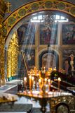 Монастырь ` St Michael Золот-приданный куполообразную форму s Стоковое Изображение RF