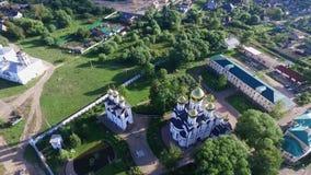 Монастырь St Nicholas (Pereslavl-Zalessky) сток-видео