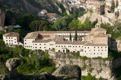 Монастырь St Paul - Cuenca - Испании стоковое фото