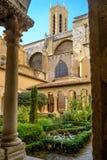 Монастырь St Sauveur на соборе в AIX-en-Провансали, Франции стоковые фотографии rf