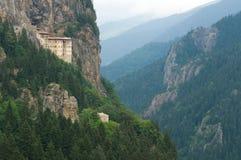 Монастырь Sumela стоковые изображения rf