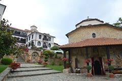 Монастырь sv скит bigorski jovan македония стоковые фотографии rf