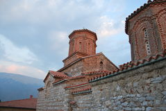 Монастырь Sveti Naum в македонии Стоковые Изображения