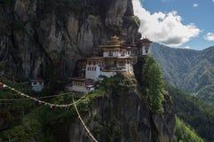 Монастырь Taktsang Стоковая Фотография RF