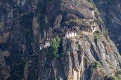 Монастырь Taktsang Стоковые Фотографии RF