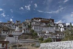 Монастырь Thiksey в Ladakh, Индии, Азии стоковое изображение