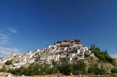 Монастырь Thiksey в Ladakh, Индии стоковое изображение