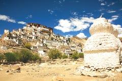 Монастырь Thiksey, Leh-Ladakh, Индия Стоковые Изображения