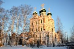 Монастырь Vvedensky стоковое изображение