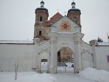 Монастырь Yurovichsky стоковое фото