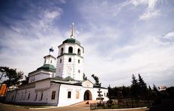Монастырь Znamensky, Иркутск Стоковое Изображение RF