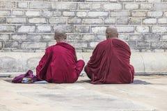 2 монаха моля Стоковое Изображение RF